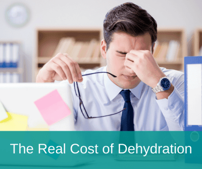 Man Has Headache Due to Dehydration | Lipsey Water