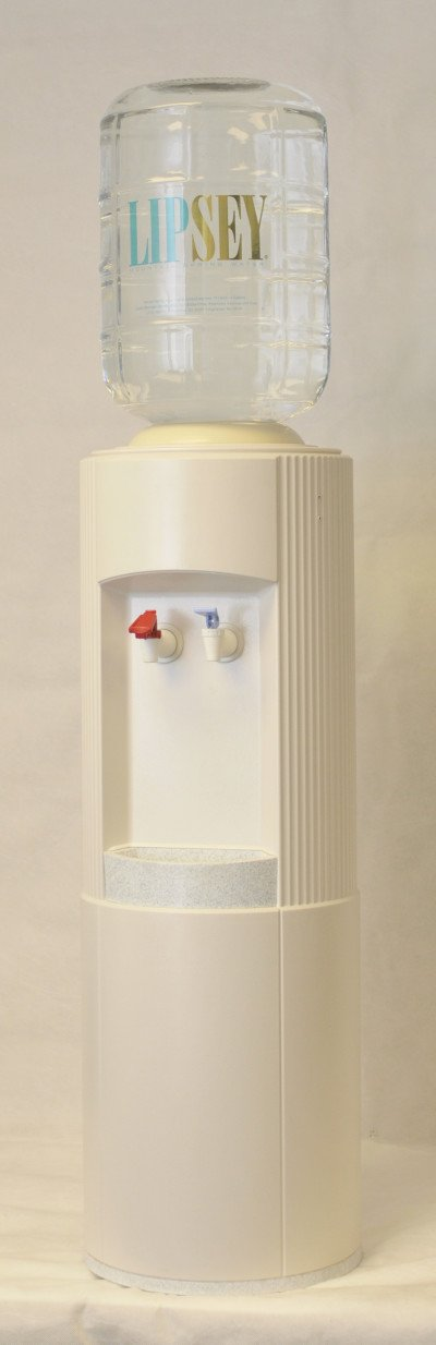White Plastic Water Cooler | Lipsey Water